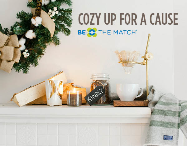 Cozy up for a cause - homepage