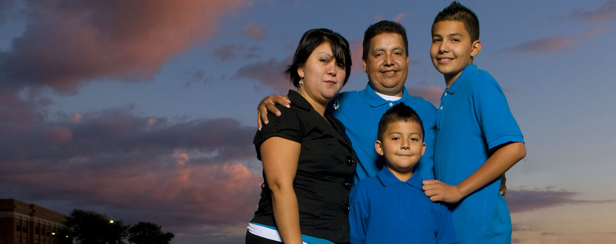 Ranulfo, transplant recipient, with his family