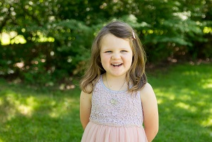 Lucy, bone marrow transplant recipient