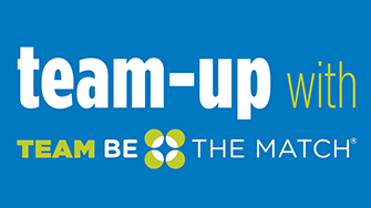 Team up with Team Be The Match